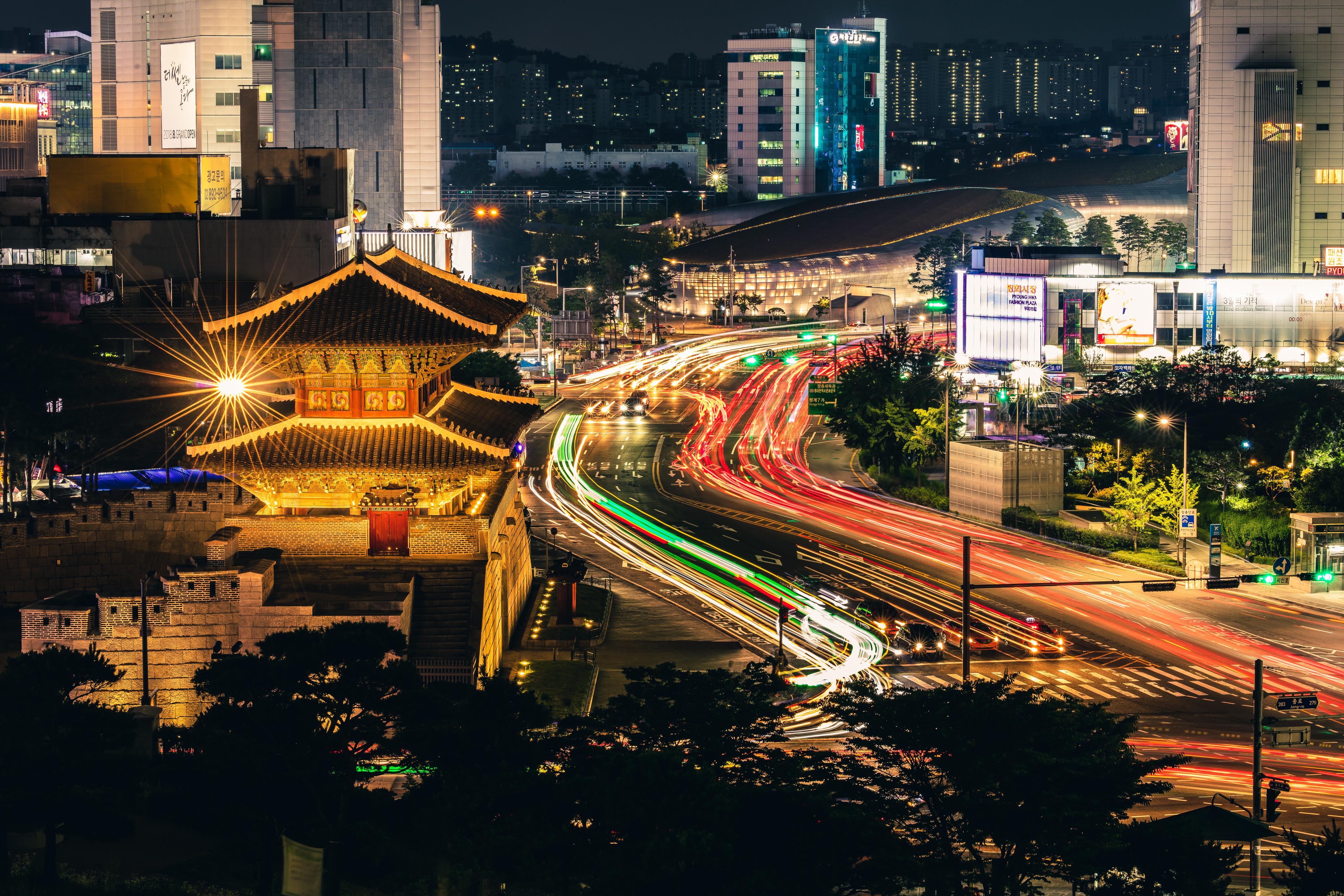 Dongdaemun und Design Plaza Seoul