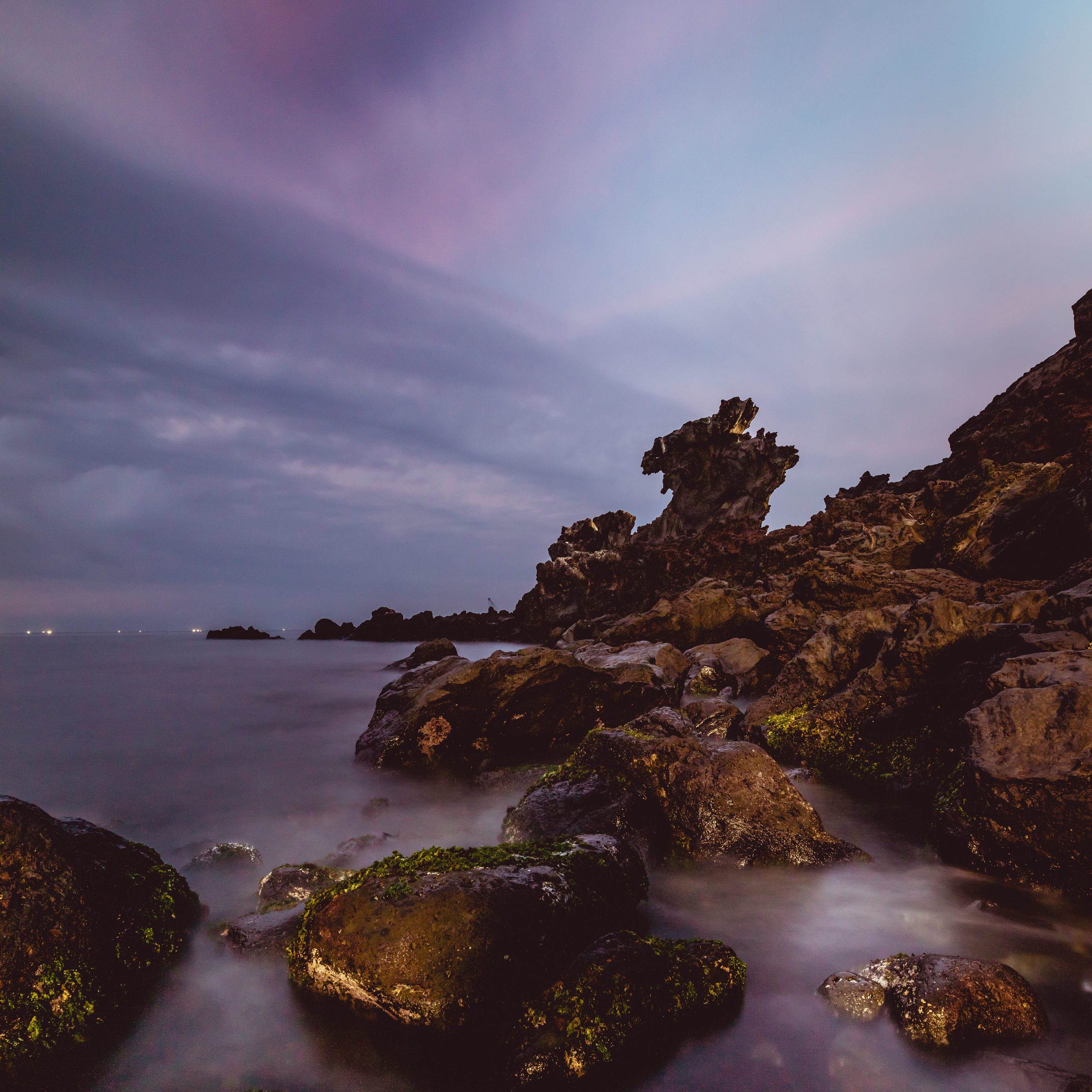 Yongduam Rock auf Jeju