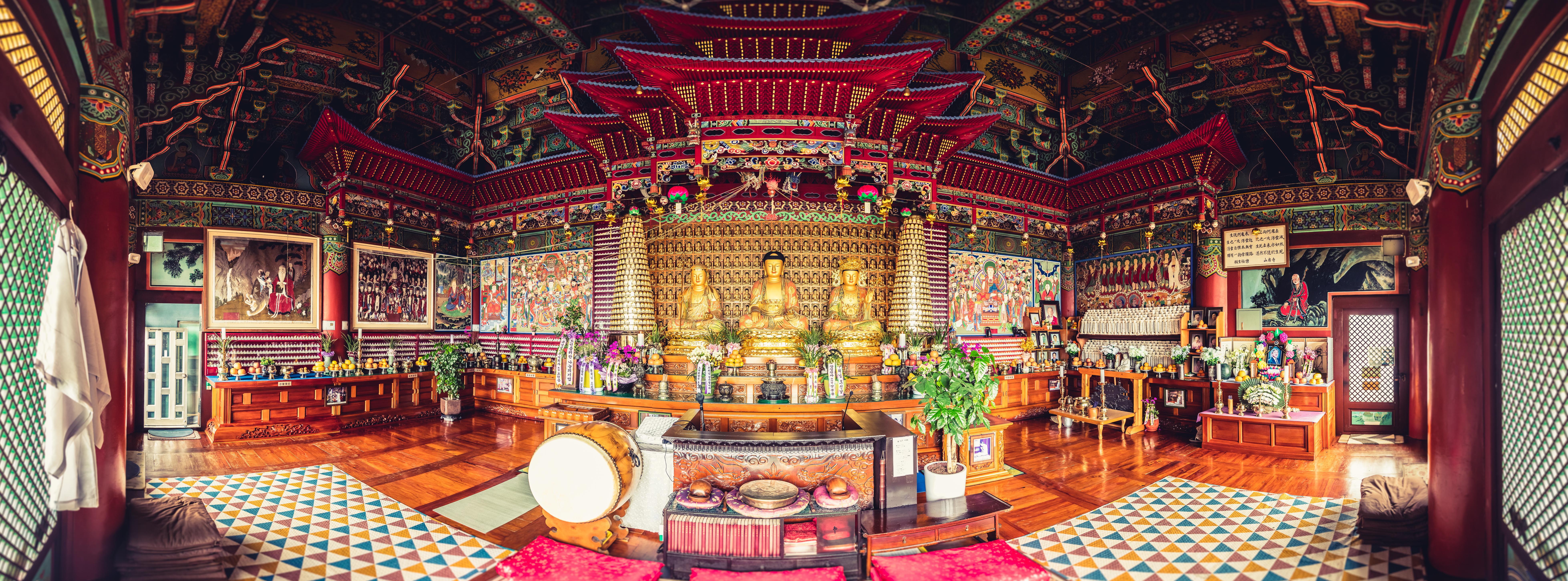 Buddhistischer Tempel Sangbagsan